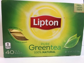 LIPTON GREEN TEA 40CT