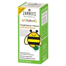 ZARBEES NAT 4OZ CHLD CGH GRP+MC