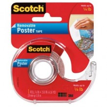 SCOTCH POSTER TAPE 3/4X150 #109
