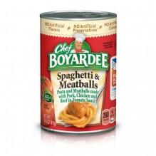 CHEF BOYARDEE SPAG&MEATBLL 14.5