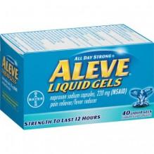 ALEVE LIQUID GELS 40'S