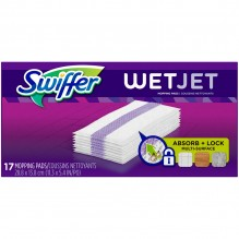 SWIFFER WET REF PAD WOOD 17 CT