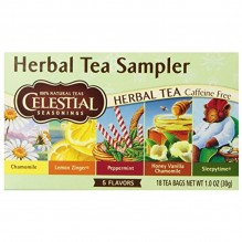 CLST SSNG HERB TEA SAMPLER 18CT