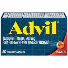 ADVIL TABS 50'S
