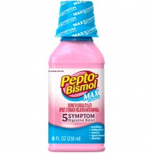 PEPTO BISMOL 8 OZ MAX STRENGTH