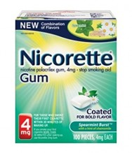 NICORETTE GUM 4MG 100CT SPEARMN