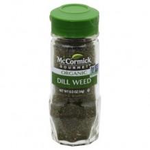 MCCORMICK ORGANIC DILL WEED .5Z