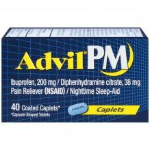ADVIL PM CAPLETS 40 CT