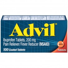 ADVIL TABS 100'S