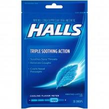 HALLS BAG 30'S MENTO-LYPT