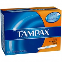 TAMPAX 40'S SUP + FLUSHABLE