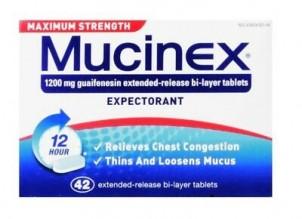 MUCINEX MAX STRENGTH 42 CT
