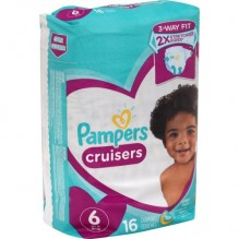 PAMPERS CRUISER SZE-6 JMBO 16CT