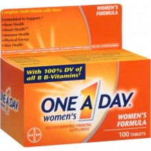 ONE A DAY WOMEN 100 CT