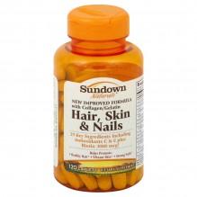 SUNDOWN HAIR-SKIN-NAILS 120 CT