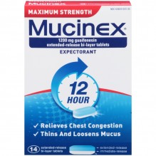 MUCINEX MAX STR SE 14CT