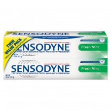 SENSODYNE 4OZ FRSH MINT TWIN PK
