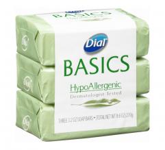 DIAL SOAP 3.2OZ 12/3PK HYPOALLR