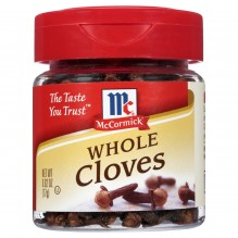 MCCORMICK CLOVES WHOLE .62 OZ