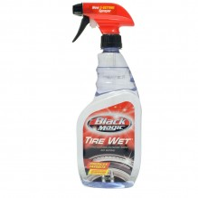 BLACK MAGIC TIRE WET SPRAY 23OZ