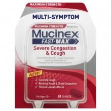 MUCINEX FAST-MX 20CT SVR CONGES
