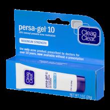 CLN & CLR PERSAGEL 1 OZ MAX 10%