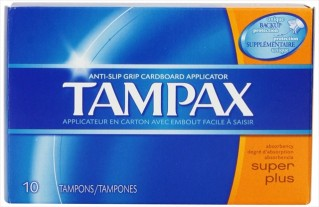 TAMPAX 10'S SUPER-PLUS FLUSHA