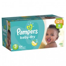 PAMPERS BABY DRY SZE 3 SPR104