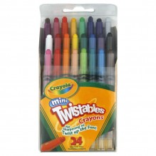 CRAYOLA MINI TWIST 24CT