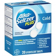 ALKA SELTZER PLUS ORIGINAL 20CT