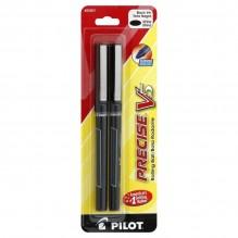 PILOT V5 X-FINE BLACK 2PK