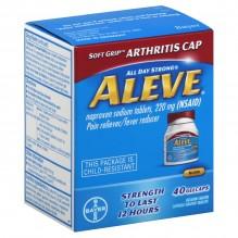 ALEVE ARTHRITIS G/CAP 40CT