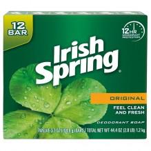 IRISH SPRING 3.7 OZ 12PK ORIG