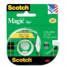 SCOTCH MAGIC TAPE 1/2X800 #119