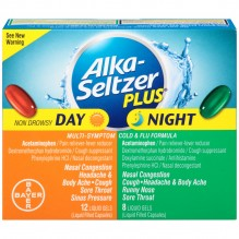 ALKA PLUS DAY/NGHT CLD/FLU 20CT