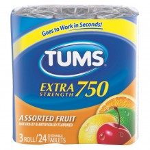 TUMS 3-PK X-S ASSORTED FLAVORS