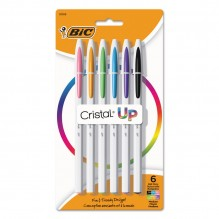 BIC CRISTAL UP BALL POINT 6CT