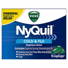 NYQUIL 16'S LIQUICAPS CLD/FLU