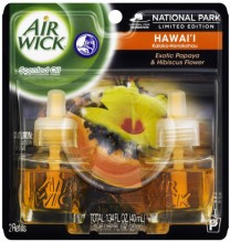 AIR WICK OIL REFILL TWIN HAWIAN