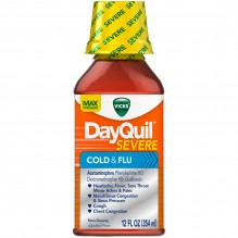 DAYQUIL12OZ SEVERE COLD/FLU