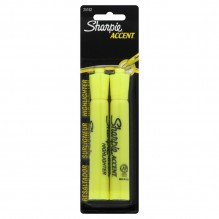 SANFORD MAJOR ACCENT YELLOW 2PK