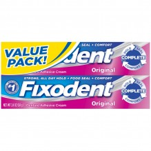 FIXODENT 2.4OZ TWIN PACK ORIG