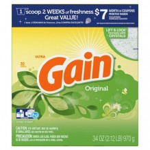 GAIN POWDER 34OZ ULT H/E ORIG