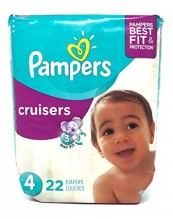 PAMPERS CRUISER SZE-4 JMBO 22CT