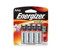 EVEREADY ENRGZR MAX AA 8PK