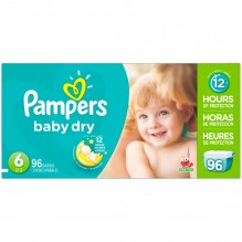 PAMPERS BABY DRY SZ6 SUPER PK64
