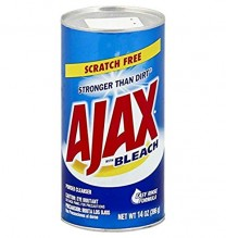 AJAX CLEANSER/BLCH 14OZ REG+