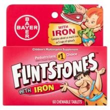 FLINTSTONES W/IRON 60'S