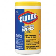 CLOROX WIPES 35CT LEMON FRESH
