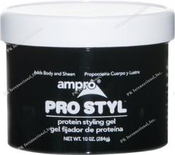 AMPRO STYLE GEL 10 OZ REG CS/6
